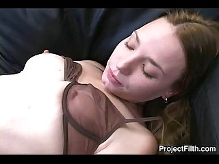 Amateur girlfriend fucked by her lover