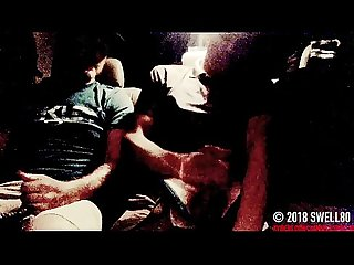 spy cam straight young latino cums from hand job in back seat of my truck (Mikey 1)