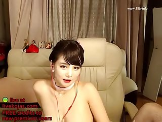 Korean busty camgirl in stockings live at livekojas com