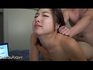 Big ass asian camgirl gets a pov doggystyle fucking andregotbars