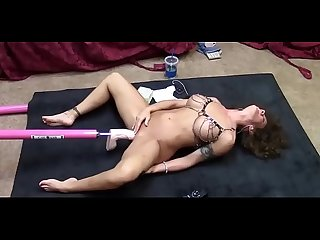MILF showing her fucking machine! -CAMS999.COM-