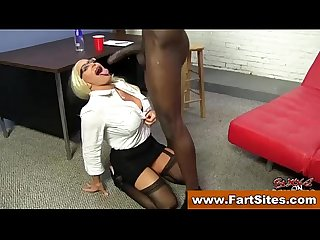Interracial loving stockings cougar fucked