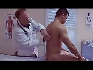 Male doctor exame