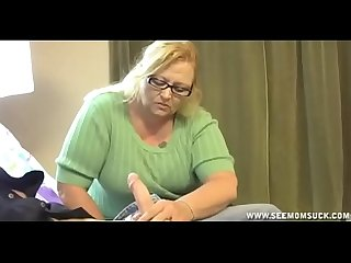 Milf Wants To See And Suck Young Guys Big Cock