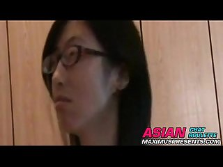 Asian american amateur sex tape with white bf