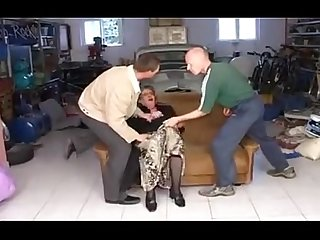 Granny anal threesome basedcams com