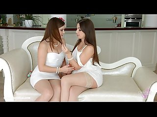 Morning chill by sapphic erotica lesbian love porn with evalina darling dian