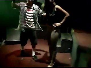 Gostosa em baile funk