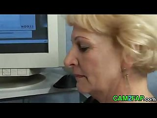 Blond Granny Suck and Fuck Free Mature Porn