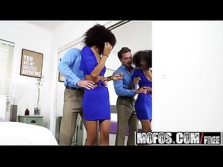 Mofos ebony gfs pre party pounding starring riley king