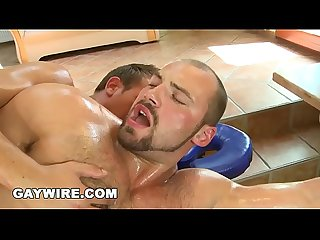 GAYWIRE - Gay Massage Gets Hot and Heavy With Tomas Friedel & Vilda
