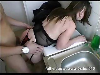 French bbw emilie fucked in lingerie