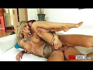 Bamvisions tattooed anal slut kleio valentien