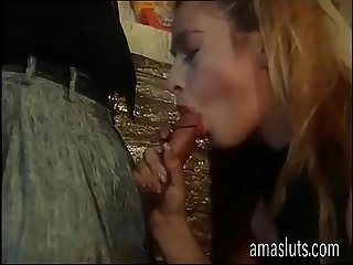 Three unleashed whores for a cock to suck