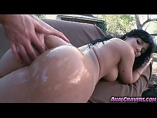 Sweet babe Rose having a huge cock
