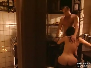 Ivy Crystal likes to Fuck in the Kitchen