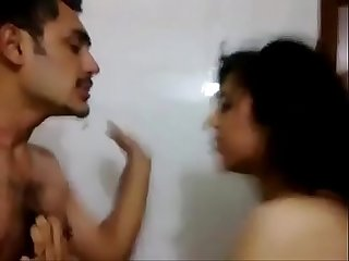 Desi horny girl brutally slapped on face while kissing