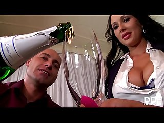 Celebration at office makes boss bang busty babes patty michova kyra hot