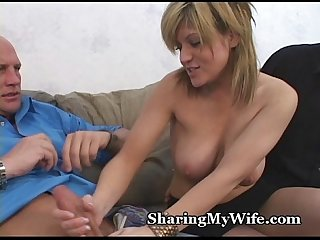 Mind blowing fuck by a wife