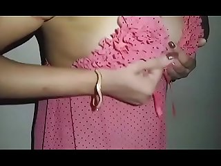 Deshi girlfriend showing boobs to boy friend