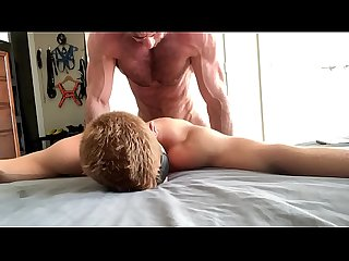 Bound and Blindfolded, Gage takes it