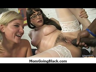 Interracial milf porn mommy rides black monster cock 18