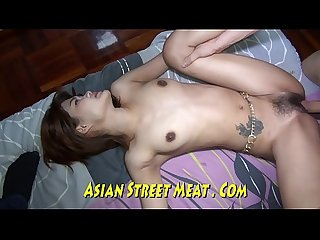 Mouth Fucked Asian Sperm Slurper