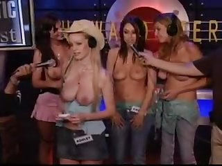 Topless fantastic 4 contest howard stern show