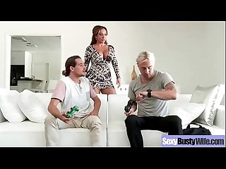 Performing amazing intercorse on cam by busty mature wife richelle ryan clip 27