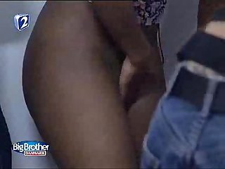 Big brother denmark ebony pussy depilation in changing room