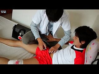 Dr twink inject his dick on his horny patient