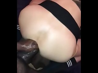 Taking a Fist and a BBC in the same hole!