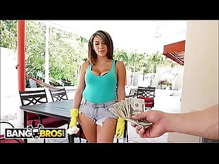 Bangbros valentina Jewels S latin big ass bouncing all over derrick ferrari S powerful cock