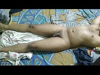 Indian boy sleeping naked