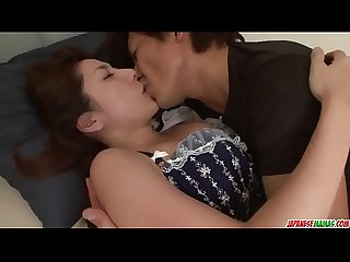 Mirei yokoyama starts with blowjob and ends fucked hard more at japanesemamas com