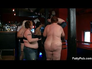 Three fatties join dirty party