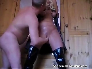 Bdsm slut gets cunt finger banged