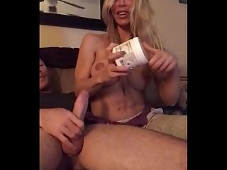 Great blowjob before bedtime