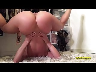 Rahyndee james shows off her all natural big tits and juicy ass snapchat peek