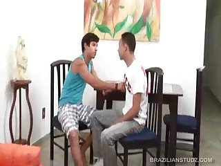 Latinos renato and pascoal flip fuck