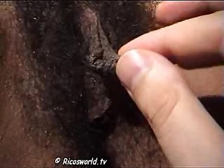 Hairy luceros big clit