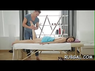Erotic body massage