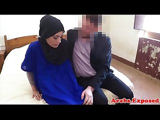 Amateur muslim beauty paid for sex on camera