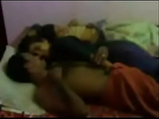Telugu girlfriend with boyfriend there are doing deep sex at a night