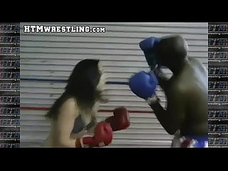 Boxing sinn sage combat fetish big booty white girl boxer