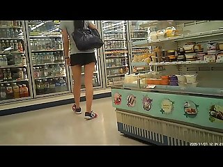 Japan Hd spycam short pants and white Underwear