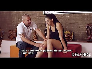 Defloration movie scene
