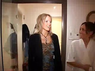Geil Vlaams trio (Hornyamateur threesome with Misjel Inge and Babefle