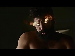 Omid Abtahi and Mousa Kraish sex scene in American Gods