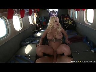 Gina lynn sex on a plane